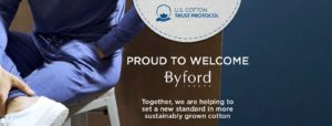 Byford joins U.S. Cotton Trust Protocol