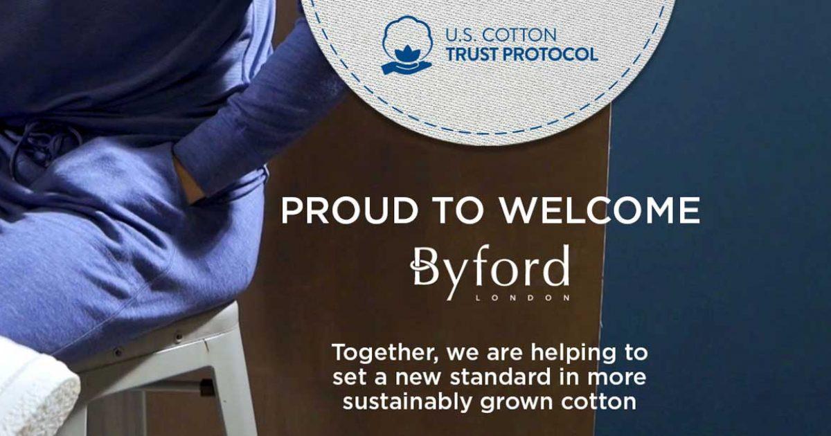 Byford joins U.S. Cotton Trust Protocol